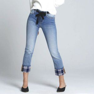 Driftwood Colette Straight Crop Jeans